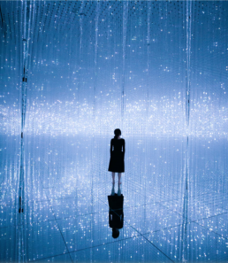 teamLab, light art