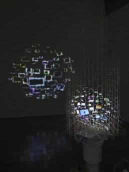 Sarah Sze, Project room projection detail