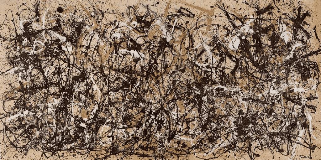 Abstract expressionism. Jackson Pollock, Autumn Rhythm, 1950.