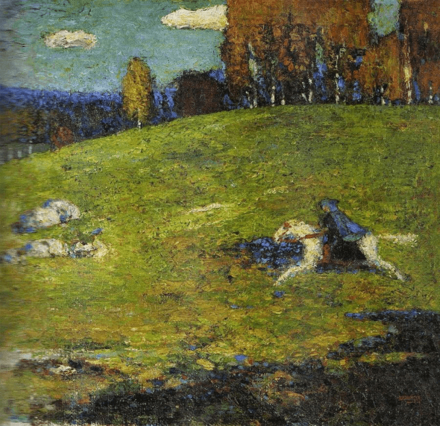 Wassily Kandinsky, Der Blaue Reiter, 1910