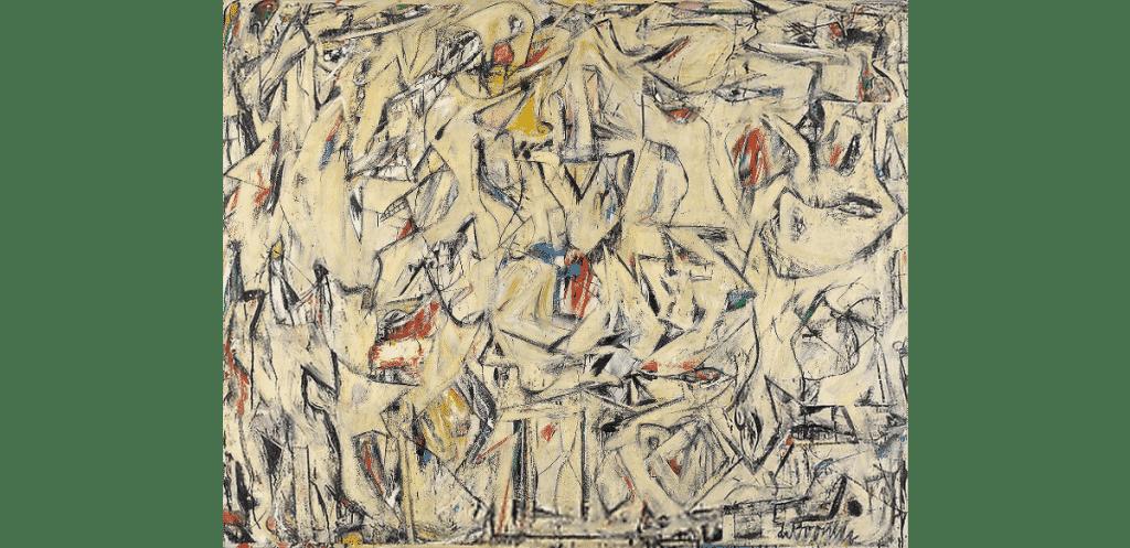 Willem de Kooning, Excavation, 1950.