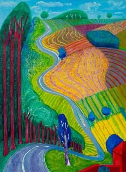 David Hockney, Landscape artists