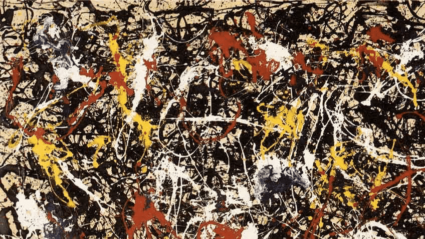 Jackson Pollock, Convergence, 1952.