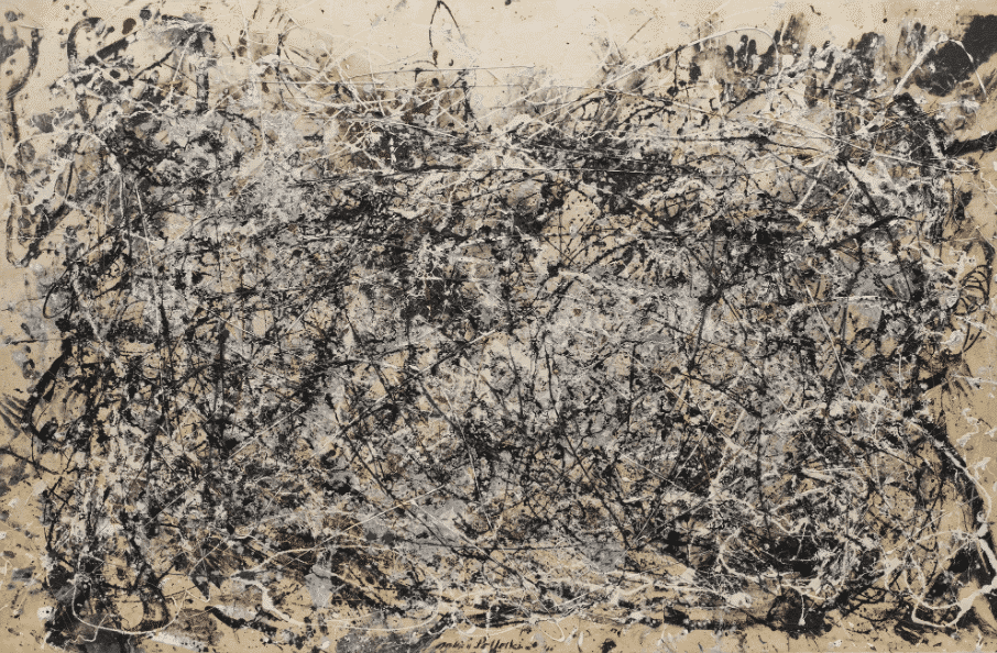 Jackson Pollock, Number 1A, 1948. Abstract expressionism.