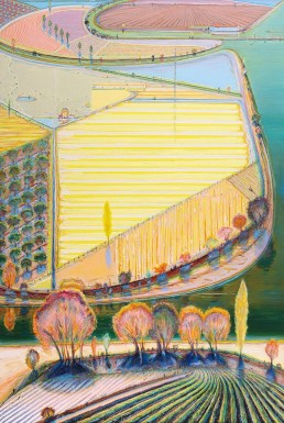 Wayne Thiebaud, Landscape artists