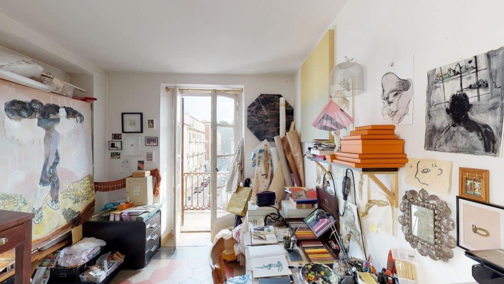 Guglielmo Castelli's Studio
