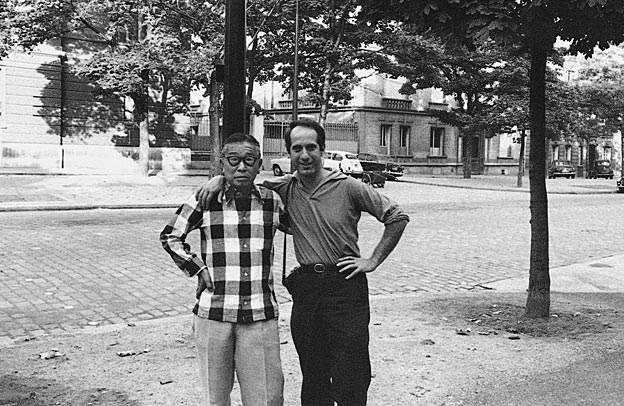 Sanyu and Robert Frank