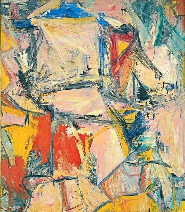 most expensive paintings, 2015, Kooning