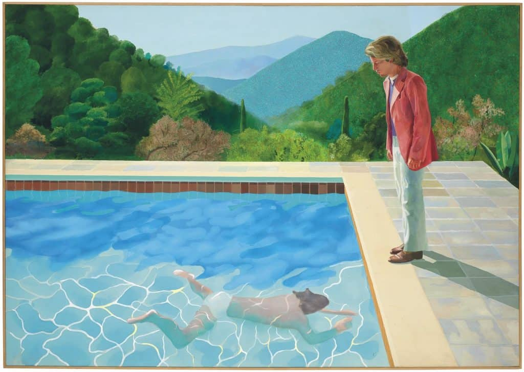 most expensive paintings, Hockney