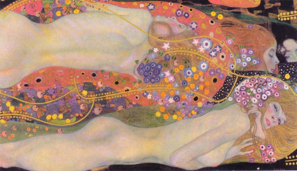 Most Expensive  Paintings of the Decade, Gustav Klimt, Wasserschlangen