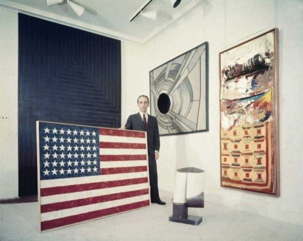 The Most Expensive  Paintings, Castelli, Flag