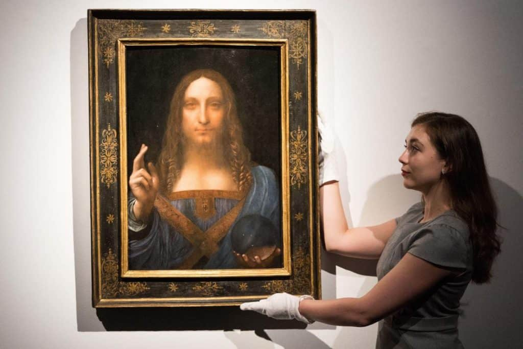 most expensive paintings, 21017, Da Vinci