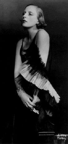 The artist, Tamara de Lempicka, 1929