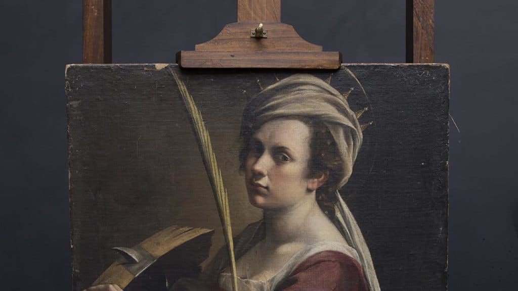 Artemisia Gentileschi, Self-Portrait as Saint Catherine of Alexandria (circa 1615–17)