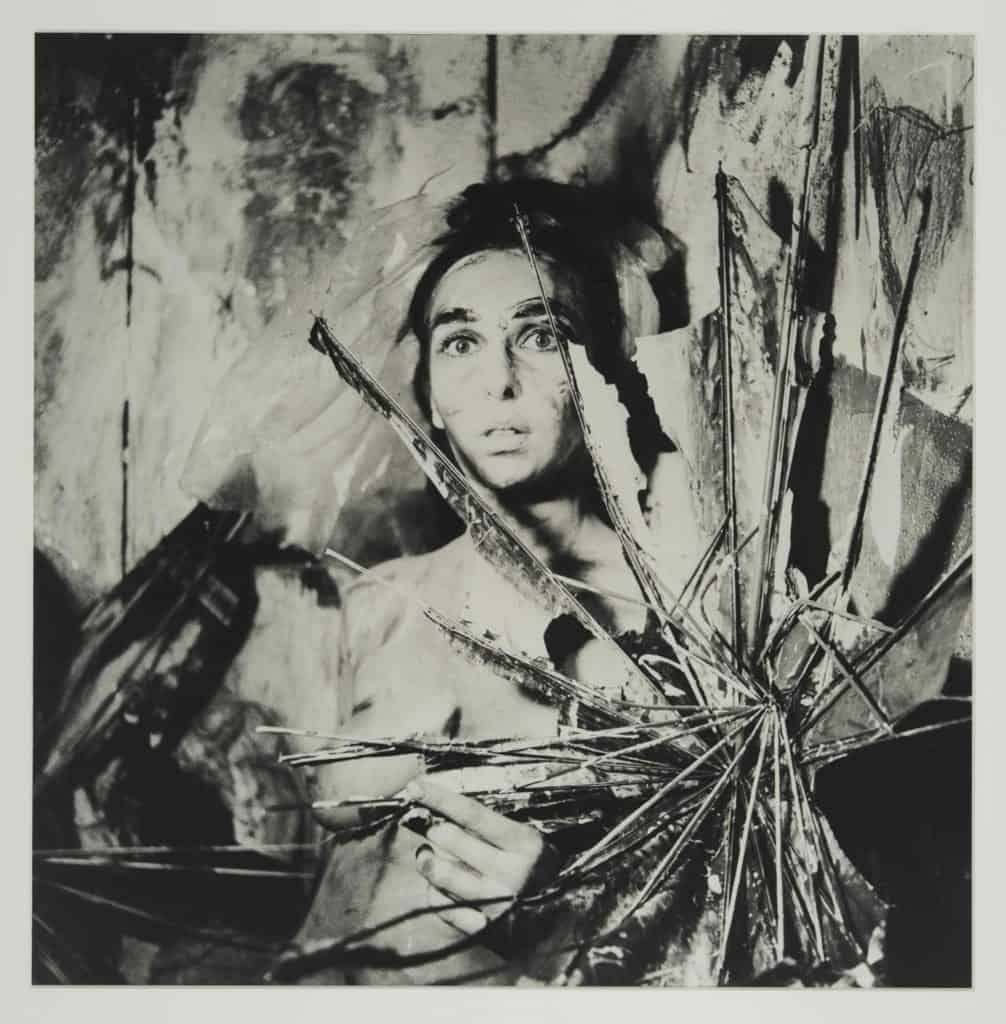 "Carolee Schneemann, from the series ""Eye Body- 36 Transformative Actions for Camera"""