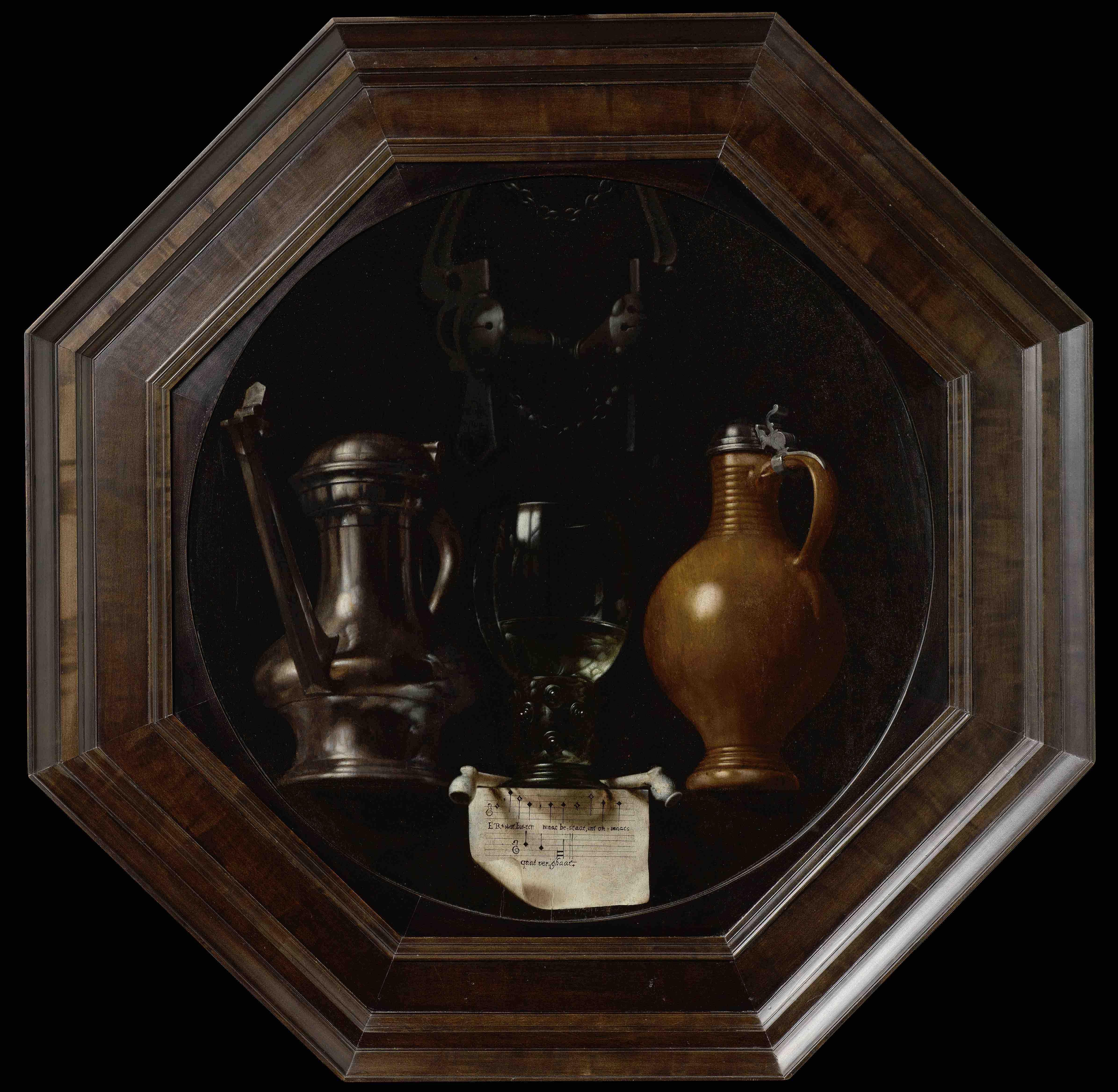Johannes Torrentius, Emblematic Still Life, 1614