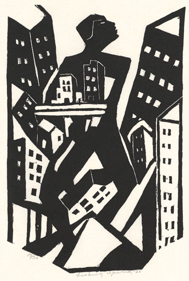 Looking Upward (1928) by James Lesesne Wells.