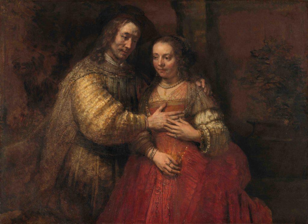Rembrandt, The Jewish Bride, ca. 1666.