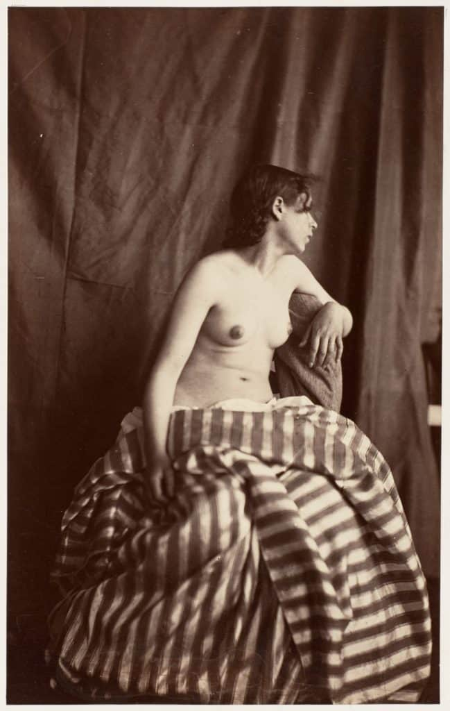 Nude Study (1853-54) by Eugene Durieu