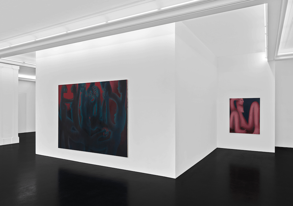 Maelstrom Installation View, Peres Projects.