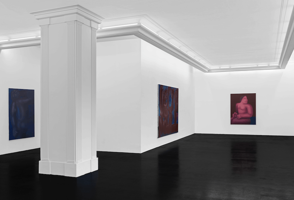 George Rouy 'Maelstrom', Installation View, Peres Projects.