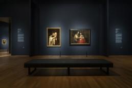 Rembrandt-Velázquez Installation View at Rijksmuseum, Amsterdam