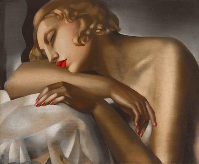 La Dormeuse (1930) by Tamara de Lempicka