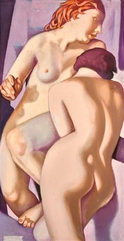 Tamara de Lempicka, Les Deux Amies V, 1974.
