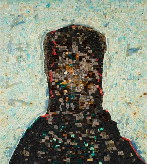 Jack Whitten, Black Monolith, II: Homage To Ralph Ellison The Invisible Man, 1994.