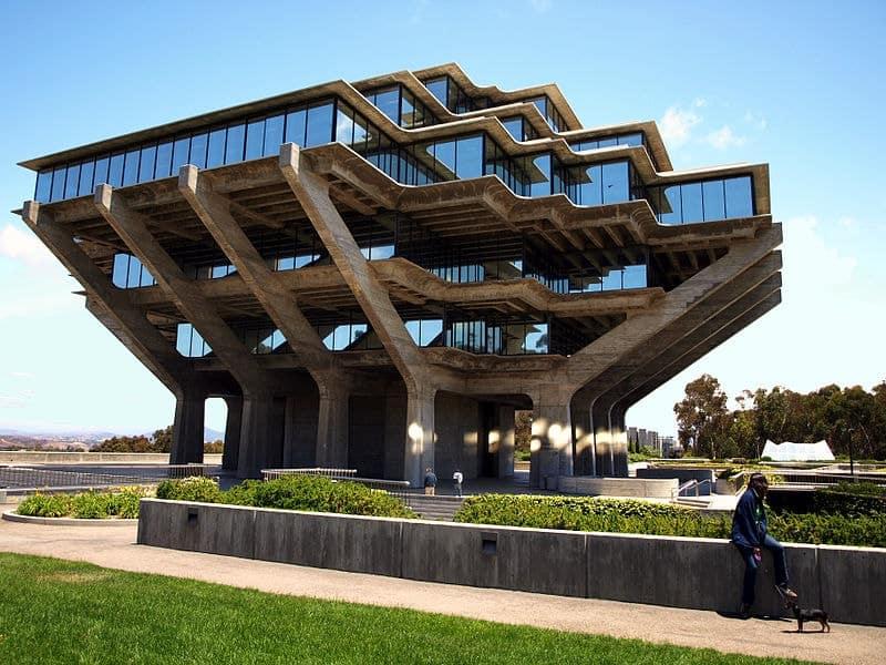 Geisel Library in San Diego, California