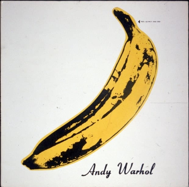 The Velvet Underground & Nico original cover, designed by Andy Warhol, 1967