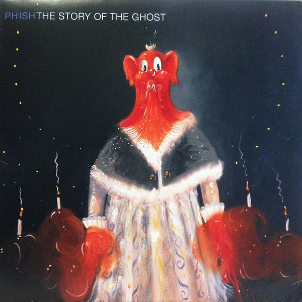 Phish, The Story of the Ghost with George Condo's artwork, 1998