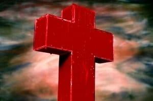 Andres Serrano's 1985 Blood Cross