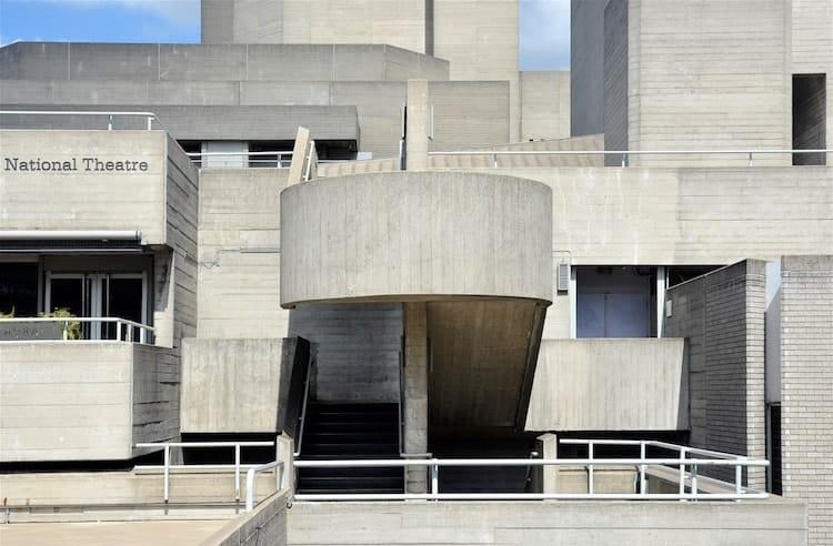 Royal National Theatre by Sir Denys Lasdun