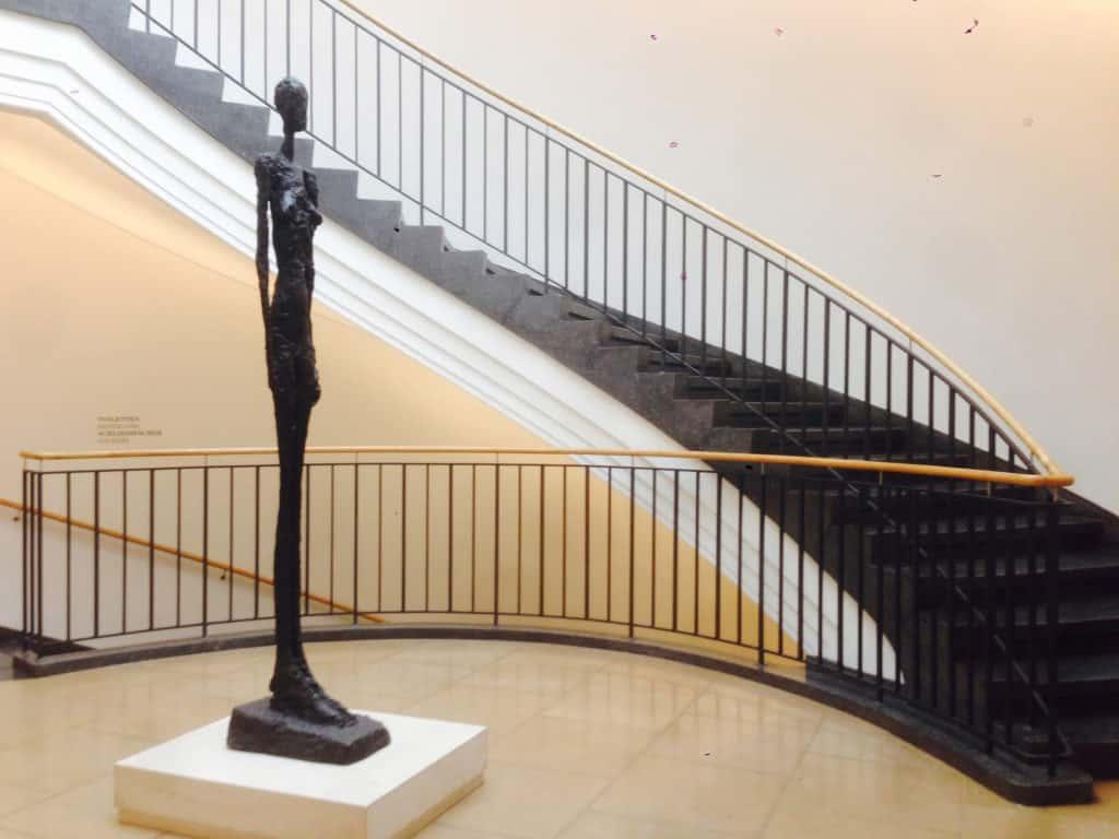 Standing Woman III, 1960, Alberto Giacometti.