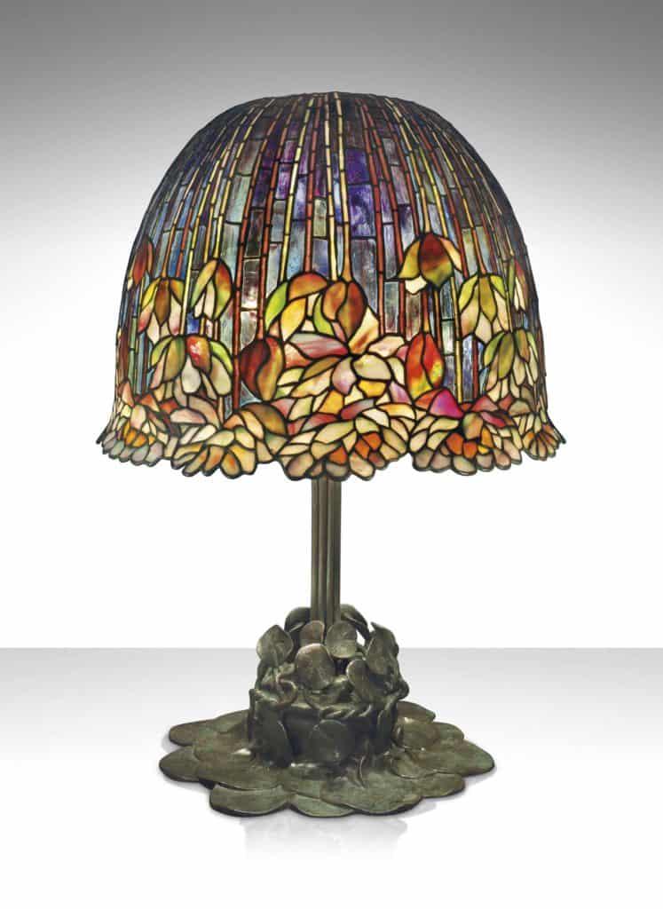 Tiffany Pond Lily Table Lamp, c. 1903. Art Nouveau