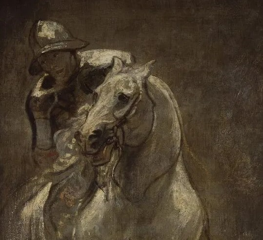 Antoon Van Dyck, A Soldier On Horseback, 1616, Christ Church Picture Gallery.