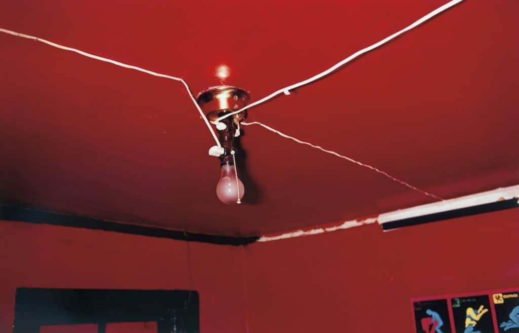 William Eggleston The Red Ceiling