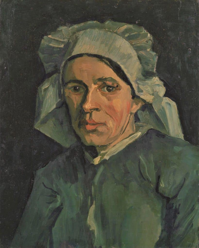 Van Gogh Head of a Woman