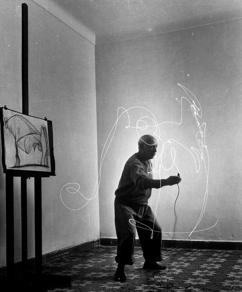 Gjon Mili's Artists: Picasso, 1949