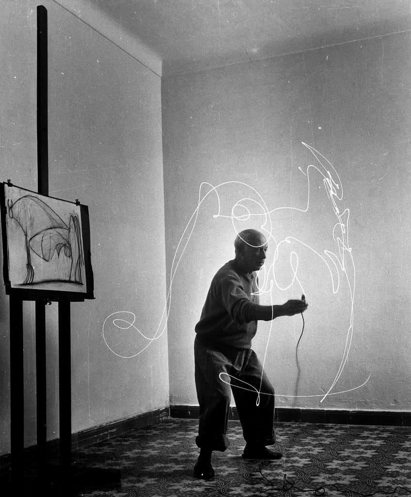 Gjon Mili's Artists: Picasso, 1949