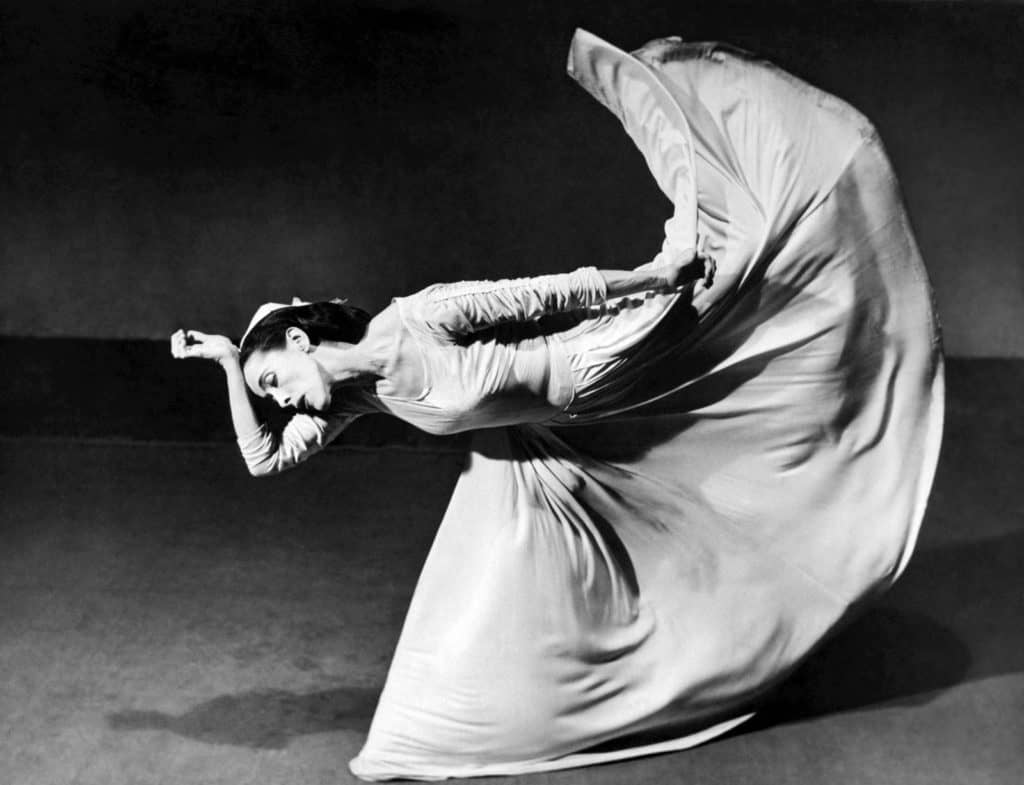 Martha Graham performing Letter to the World, 1940