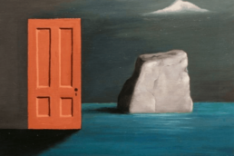 Gertrude Abercrombie, The Door and the Rock, 1971