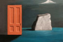 Gertrude Abercrombie, The Door and the Rock, 1971