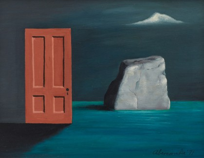 Gertrude Abercrombie, The Door and the Rock, 1971.