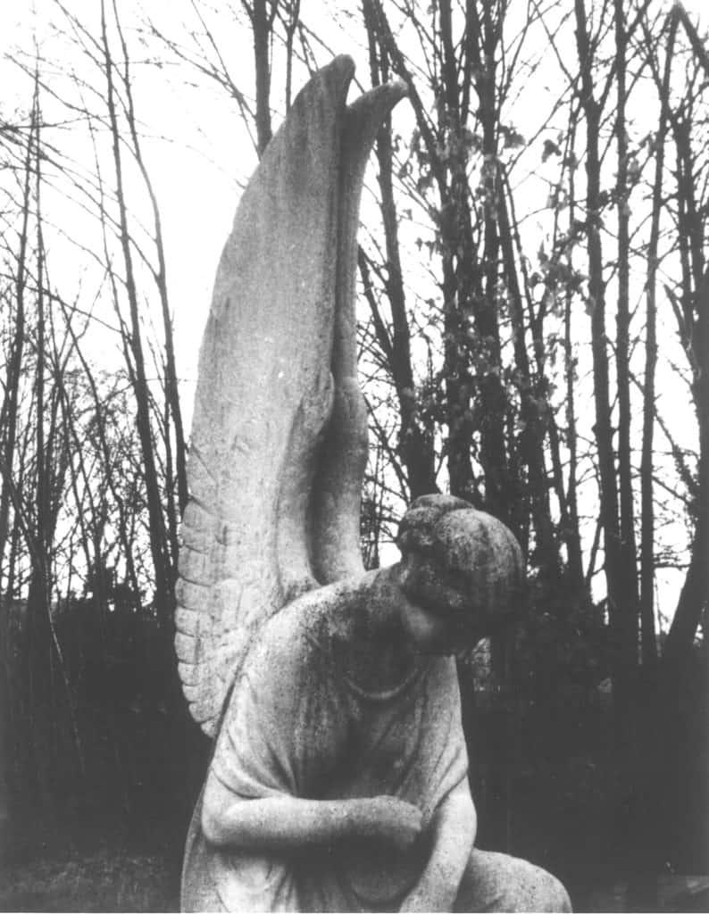 Patti Smith, Guardian Angel 1, Dorotheenstadt Cemetery, Berlin, 2013