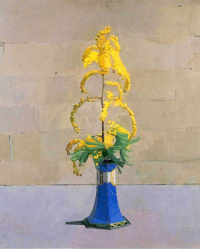 Euan Uglow, Mimosa, 1970-1971