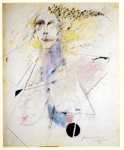 Patti Smith, Self Portrait, 1969