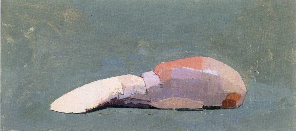 Euan Uglow, A Tongue for Rudi, 1997