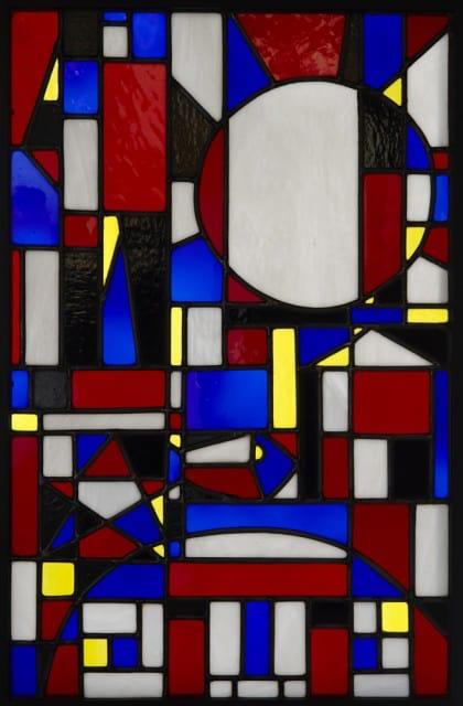 Joaquín Torres-García - Constructivist Glass - 1948